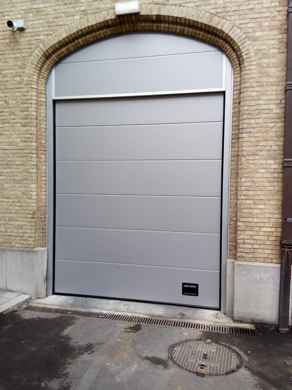 industriële sectionaalpoort Clement Poorten 4