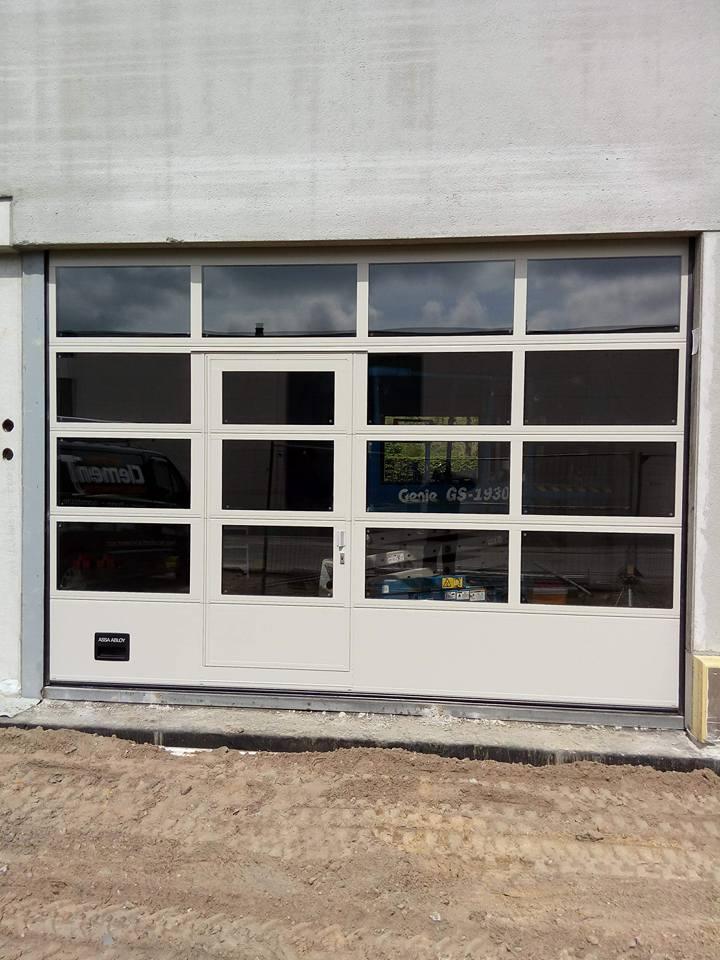 industriële sectionaalpoort Clement Poorten 5